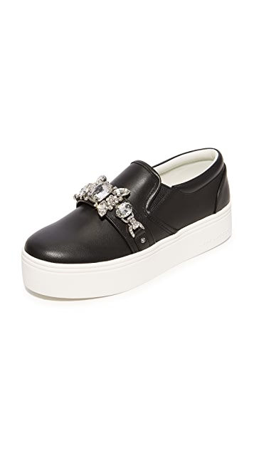 Marc Jacobs Wright Embellished Sneakers