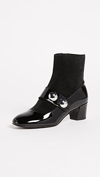 Marc Jacobs Margaux Cabochon Ankle Booties
