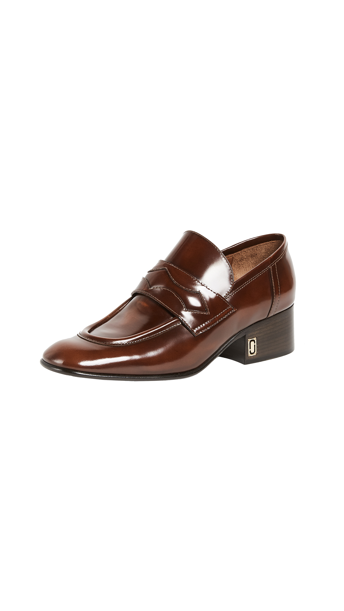 Marc Jacobs Marlene Loafers - Whiskey