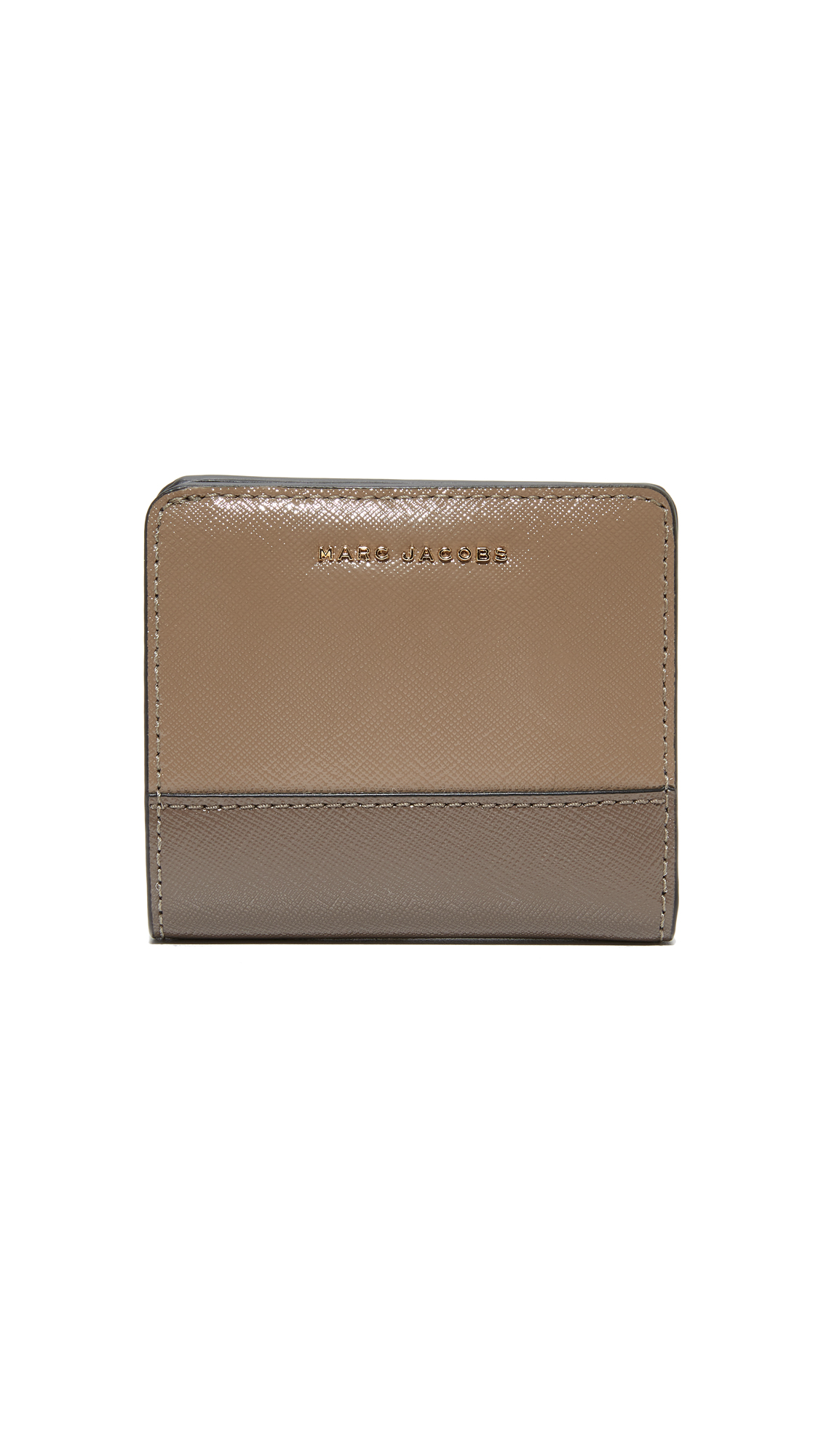 Marc Jacobs Open Face Billfold - French Grey Multi