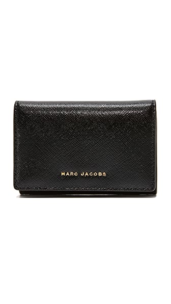 Marc Jacobs Multi Wallet - Black/Berry
