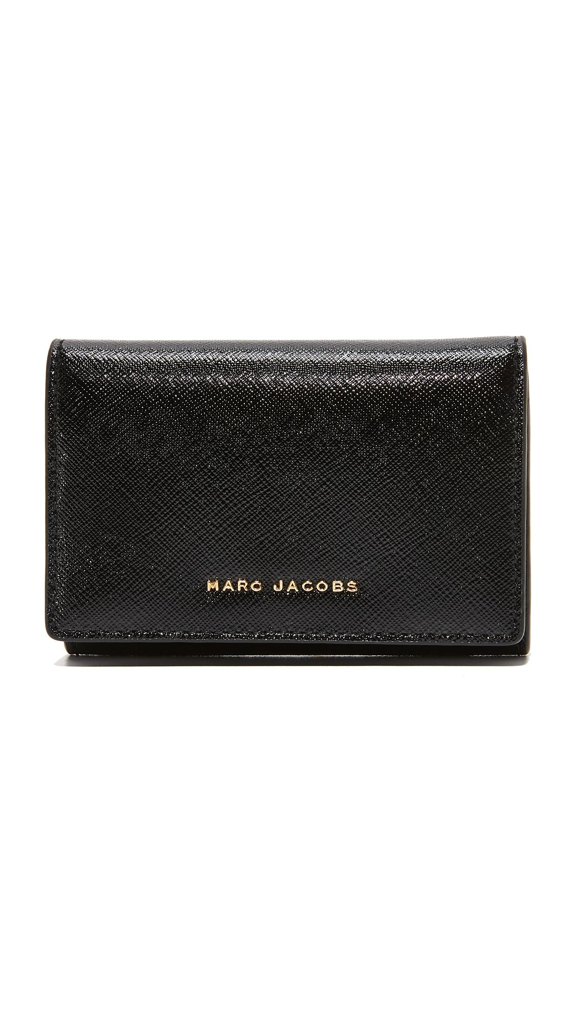 Marc Jacobs Multi Wallet - Black/Berry