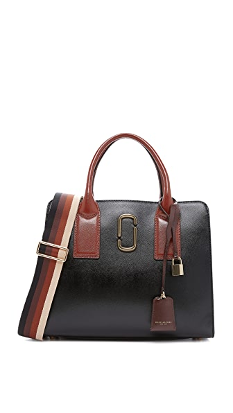 Marc Jacobs Big Shot Satchel - Black Multi