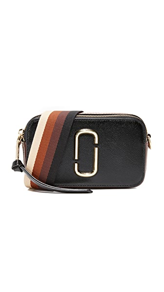 Marc Jacobs Snapshot Camera Bag - Black/Chocolate