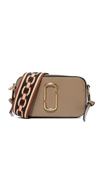 Marc Jacobs Snapshot Camera Bag In French Grey Multi