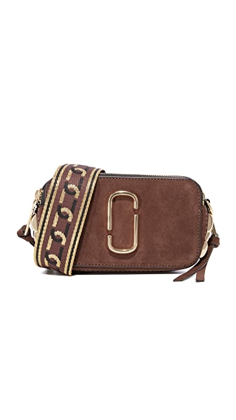 Marc Jacobs Chain Snapshot Camera Bag - Chocolate