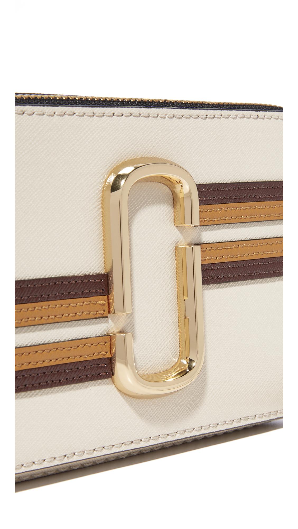 27cd6762ba52 Marc Jacobs Stripe Snapshot Camera Bag