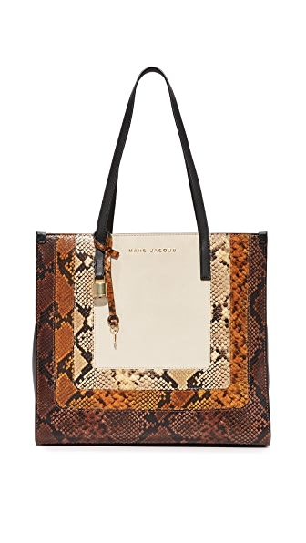 Marc Jacobs East West Shopper Tote - Papyrus Multi