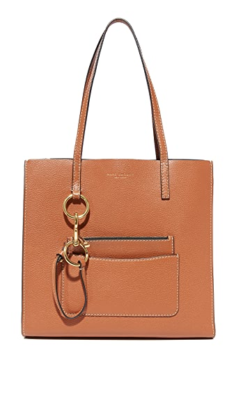 Marc Jacobs Bold Grind East / West Shopper Tote - Saddle
