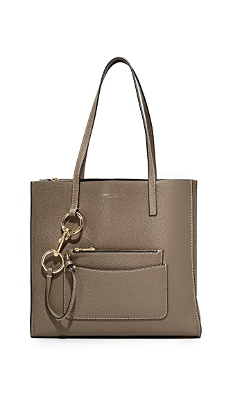 Marc Jacobs Bold Grind East / West Shopper Tote In Mushroom
