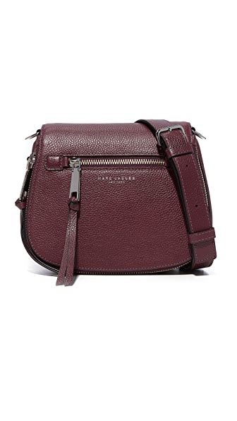 Marc Jacobs Recruit Small Nomad Saddle Bag - Blackberry