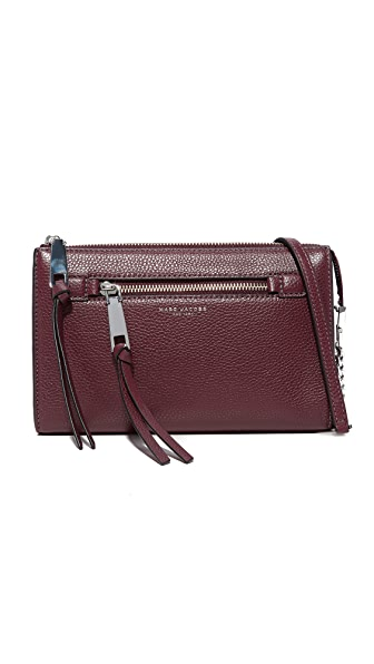 Marc Jacobs Recruit Small Cross Body Bag - Blackberry