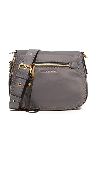 Marc Jacobs Trooper Small Nomad Saddle Bag - Medium Grey