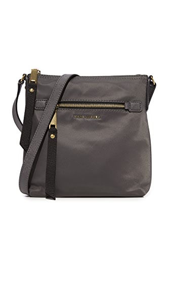 Marc Jacobs Trooper North / South Cross Body Bag - Medium Grey