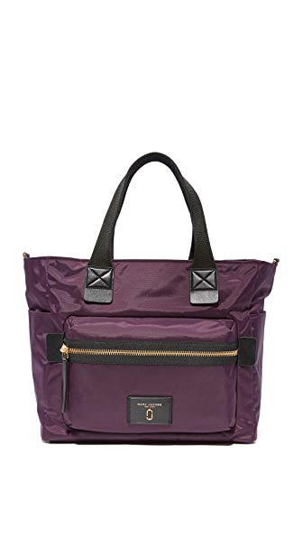 Marc Jacobs Nylon Biker Baby Bag - Dark Violet