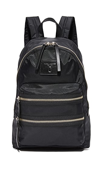 Marc Jacobs Nylon Biker Backpack - Black
