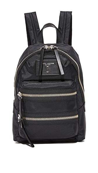 Marc Jacobs Nylon Biker Mini Backpack - Black