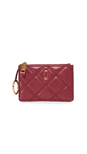 Marc Jacobs Top Zip Multi Wallet - Cabernet