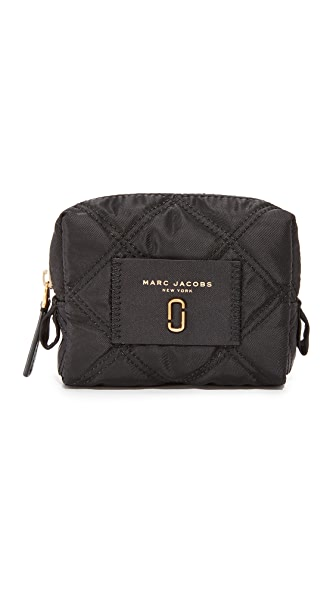 Marc Jacobs Nylon Knot Small Cosmetic Case - Black