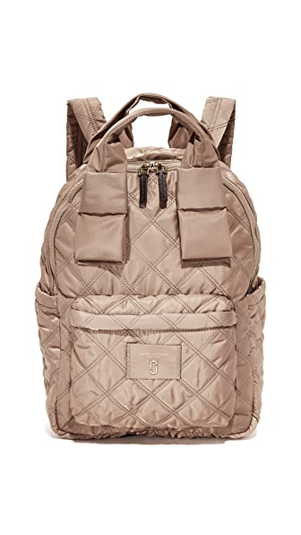 Marc Jacobs Nylon Knot Large Backpack - French Grey