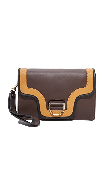 Marc Jacobs The Ring Clutch - Brown Multi