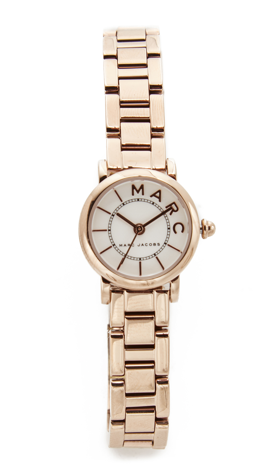 Marc Jacobs Small Roxy Watch - Rose Gold/White