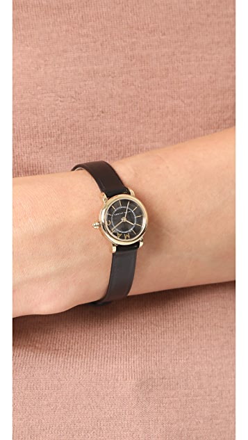Marc Jacobs Small Roxy Leather Watch