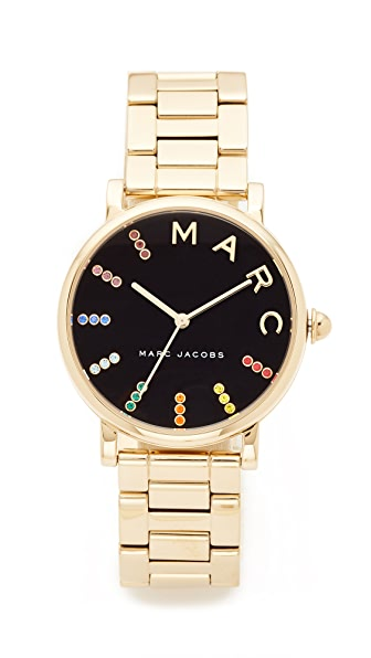 Marc Jacobs Roxy Extensions Watch - Gold/Black Multi