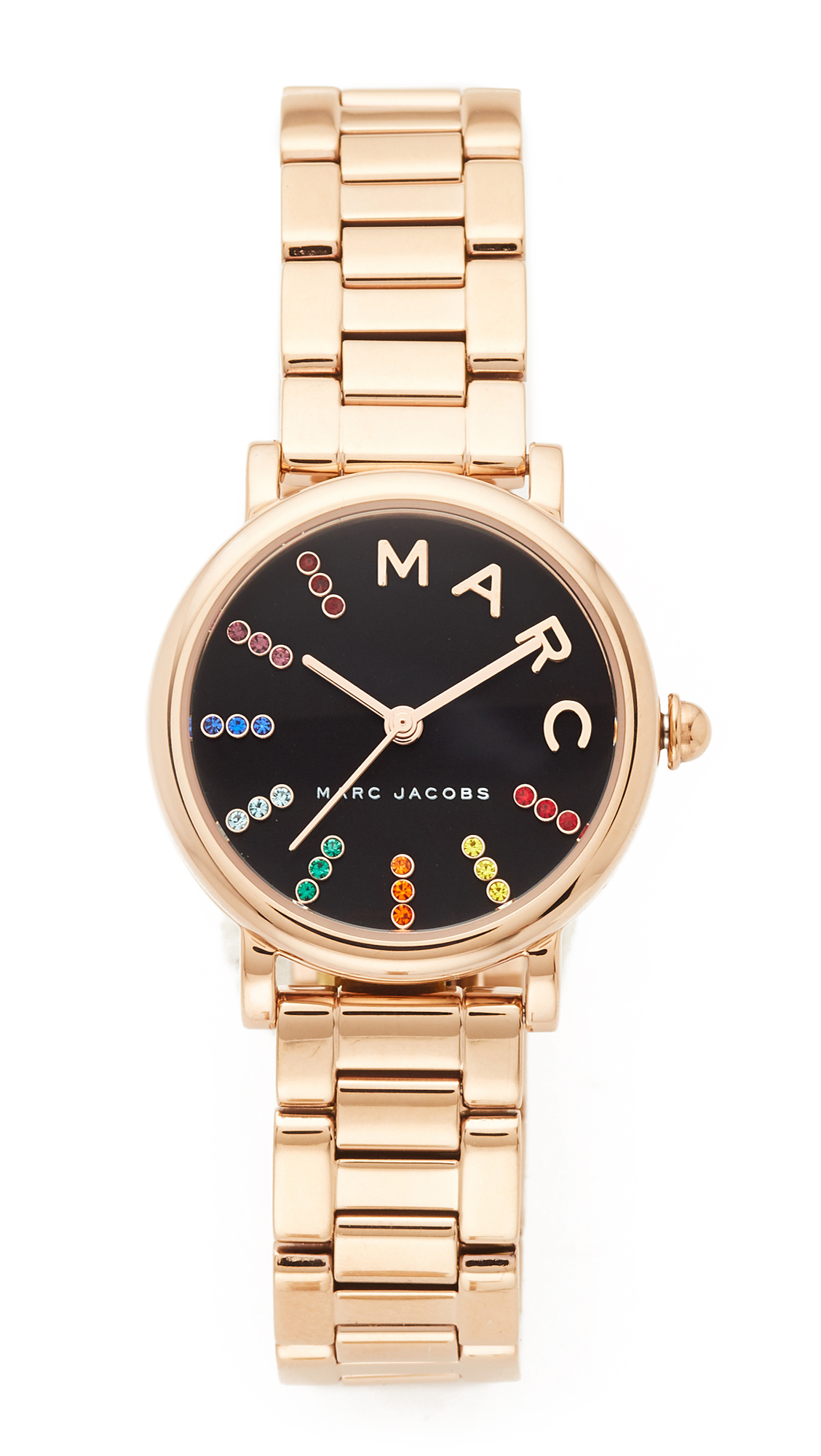 Marc Jacobs Small Roxy Extensions Watch - Gold/Black Multi