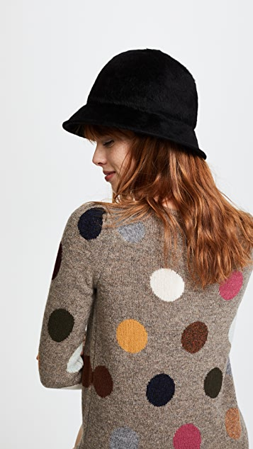 Marc Jacobs Fur Kangol Hat