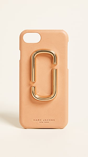 Marc Jacobs Double J iPhone 7 Case - Tan