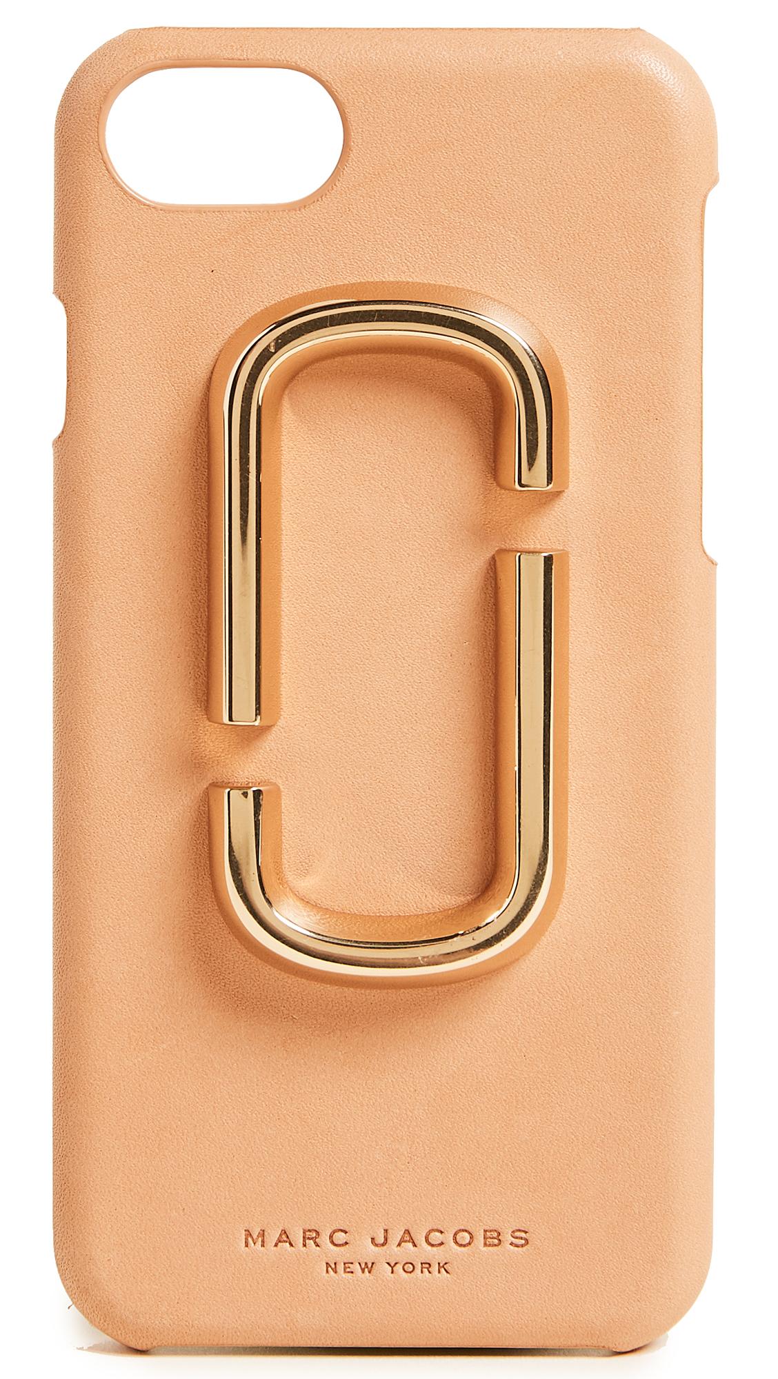 Marc Jacobs Double J iPhone 7 / 8 Case - Tan