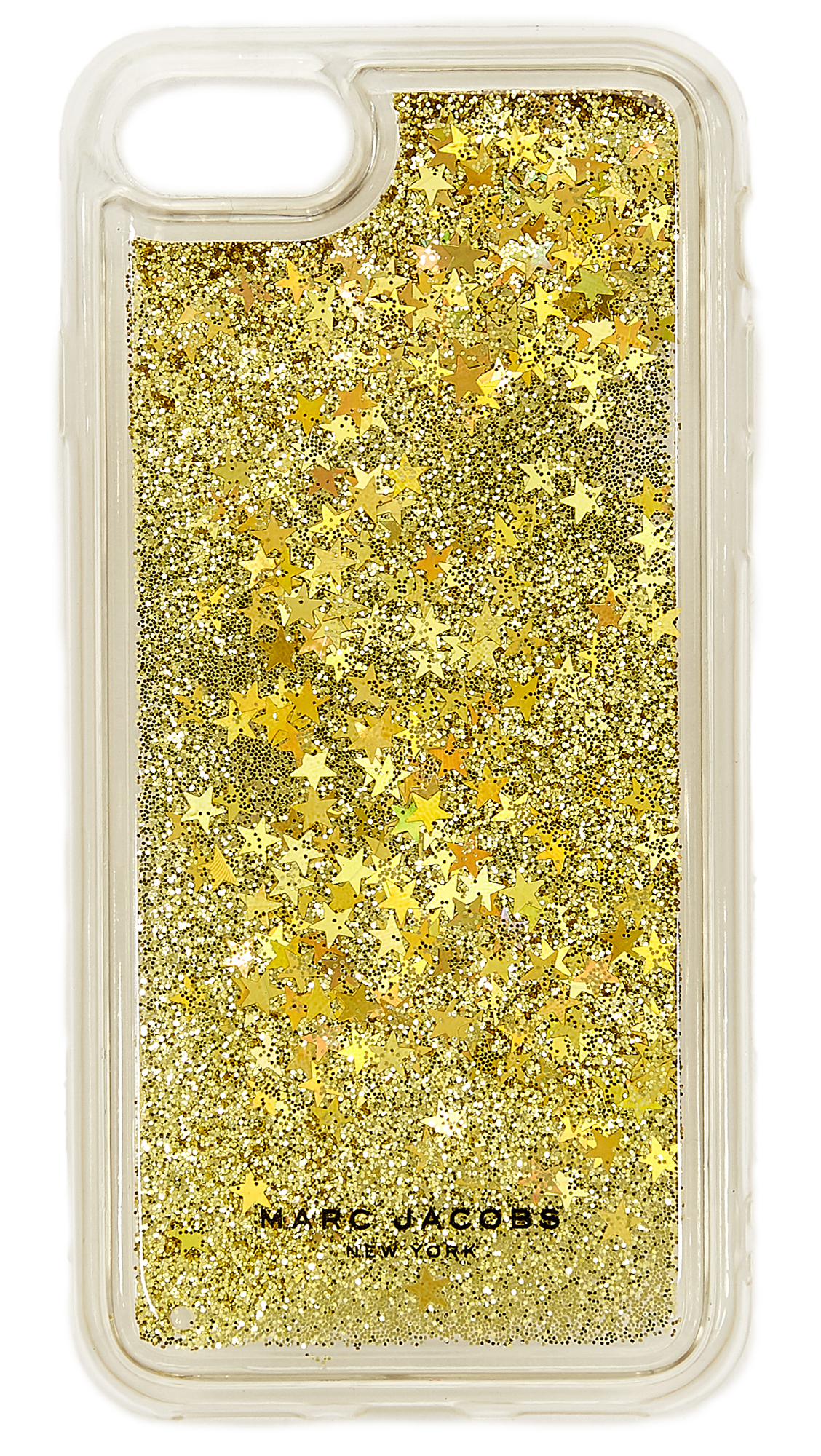 Marc Jacobs Floating Glitter iPhone 7 / 8 Case - Gold