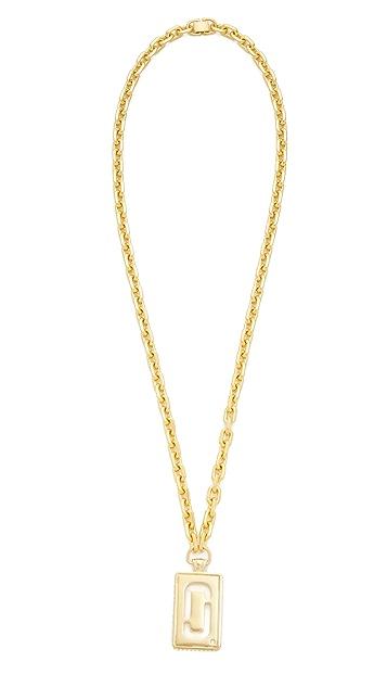 Marc Jacobs Respect J Marc Pendant Necklace