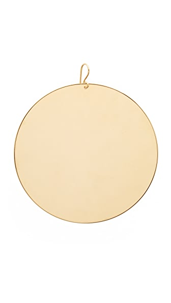 Marc Jacobs Respect Disc Single Earring - Gold
