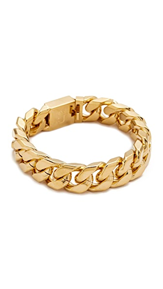 Marc Jacobs Respect Double J Bracelet - Gold