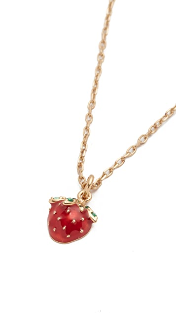Marc Jacobs Strawberry Pendant Necklace