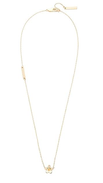 Marc Jacobs Daisy Pendant Necklace