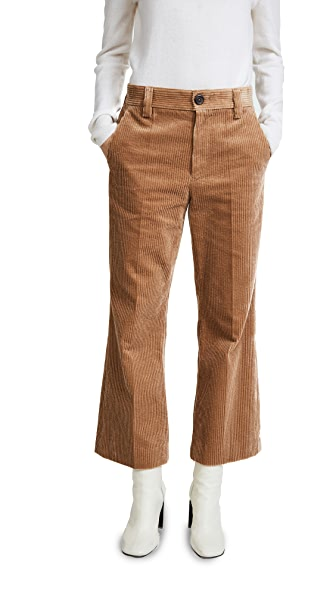 Marc Jacobs Cropped Pants In Sand
