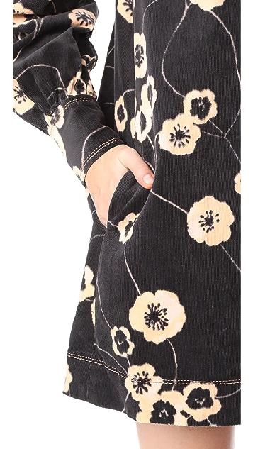 Marc Jacobs Corduroy Baby Doll Dress