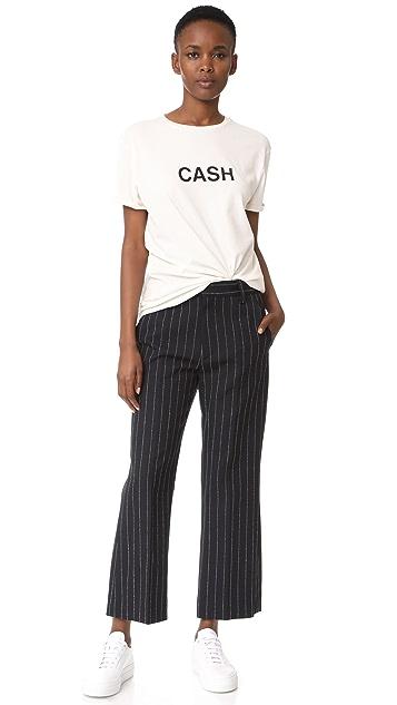 Marc Jacobs Stripe Cropped Pants