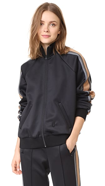 Marc Jacobs Track Zip Jacket - Black Multi