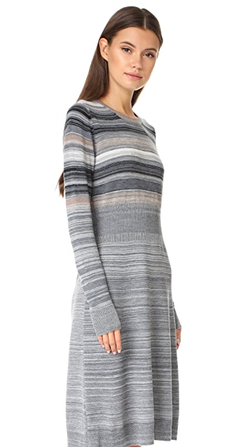 Marc Jacobs Multi Stripe Sweater Dress