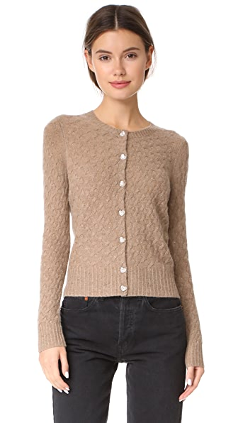 Marc Jacobs Cashmere Crew Neck Cardigan