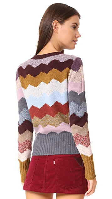 Marc Jacobs Intarsia Sweater