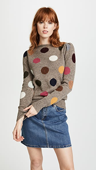 Marc Jacobs Polka Dot Sweater