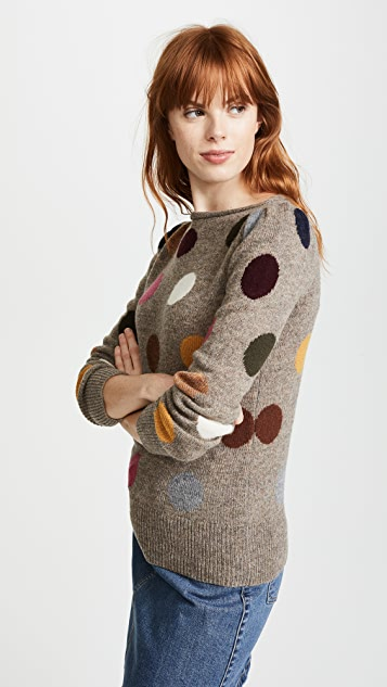 Marc Jacobs Polka Dot Sweater
