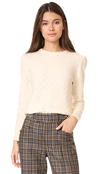 Marc Jacobs Crew Neck Sweater - Ivory