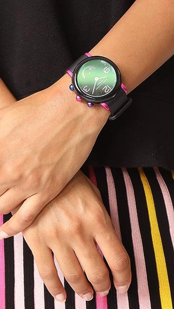 Marc Jacobs Riley Hybrid Tech Watch, 43mm