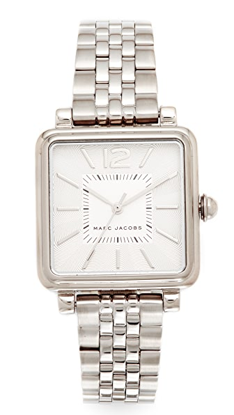 Marc Jacobs Vic Watch - Silver